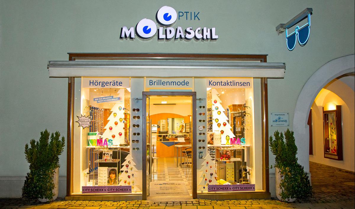 Geschäftslokal Optik Moldaschl